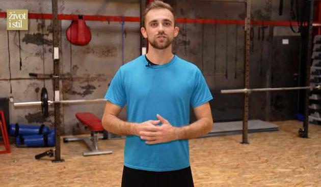 Uz trenera Vedrana Spevana odradite power aerbic trening kod kuće  (thumbnail)