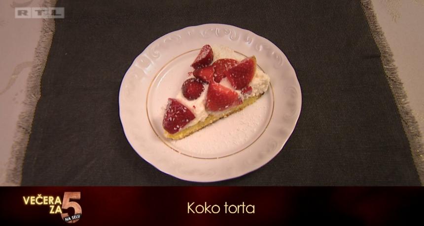 Recept za 5: Koko torta