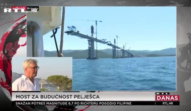 Pelješki most i nacelnik opcine ston  (thumbnail)