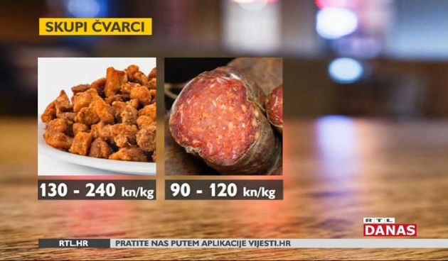 Hrvatske tržnice: Čvarci su skuplji od pršuta i kulena (thumbnail)