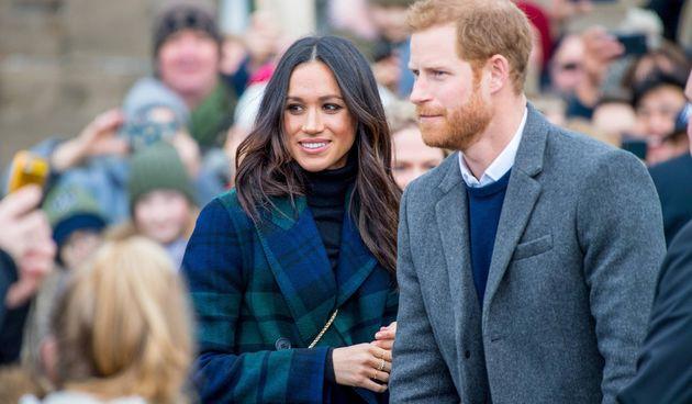 Princ Harry i Meghan Markle