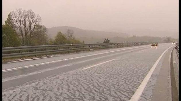 snijeg susnježica autocesta