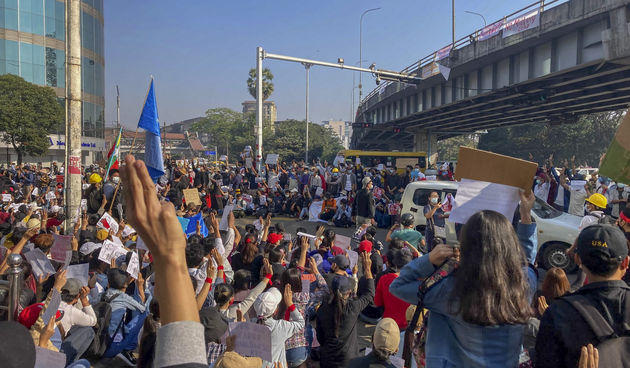 Prosvjed u Mjanmaru