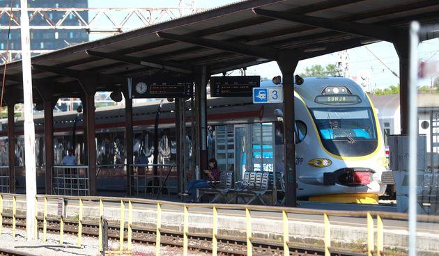 vlak kolodvor