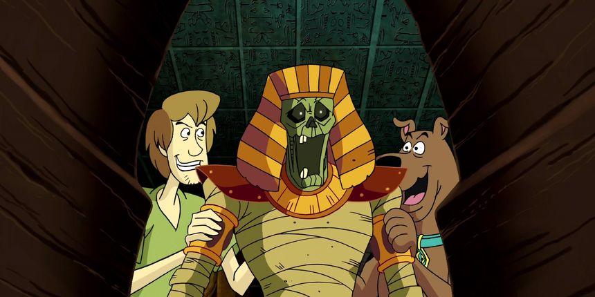 Shaggy i Scooby-Doo moraju se spasiti od drevne kletve i osvete strašnih mumija