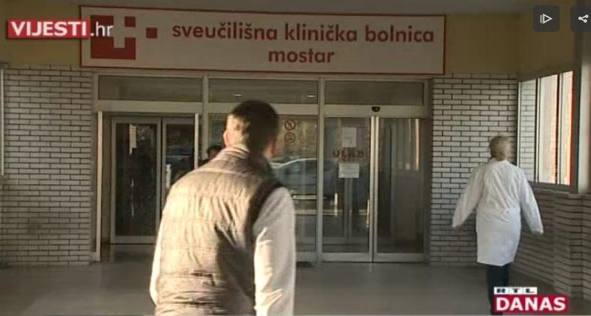 Otkazuju se usluge u bolnici u Mostaru zbog povećanja broja oboljelih od covida