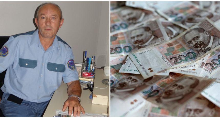 JOŠ IMA DOBRIH LJUDI Dragutin Vrhar iz Turčišća pronašao torbicu s novcem i odnio na policiju