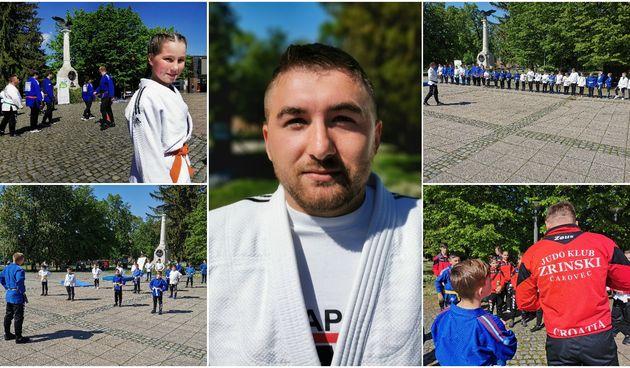Džudaši oživjeli srce grada: Mladi članovi Judo kluba Zrinski u centru Čakovca