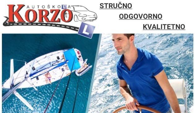 Autoškola Korzo održava tečaj za voditelja brodice B kategorije - prijavite se!