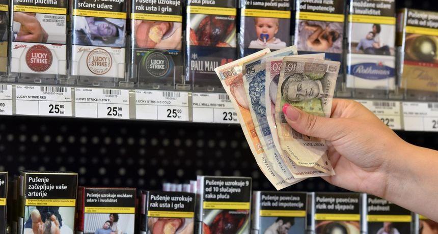 Vlada povećala trošarine na duhan, za jednu vrstu čak 75 posto! Od ponedjeljka poskupljuju cigarete
