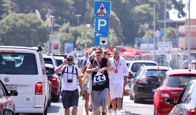 turisti, Gradska luka, Split