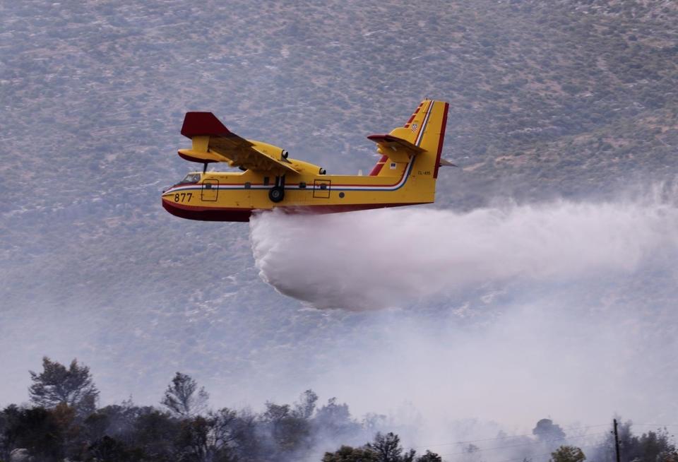 Požar nedaleko Trogira