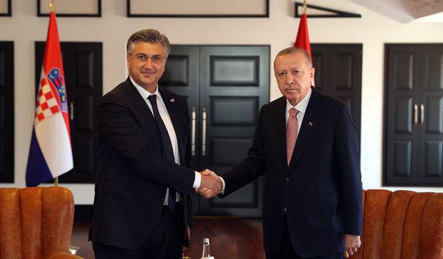 Andrej Plenković, Recep Tayyip Erdogan