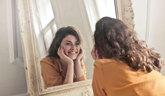 odraz u ogledalu