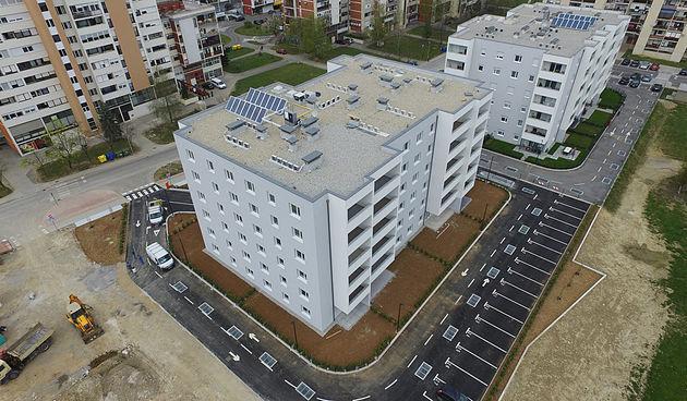 Završena zgrada u Grabriku i još malo bit će spremna za useljenje - na raspolaganju ima još stanova, provjerite!