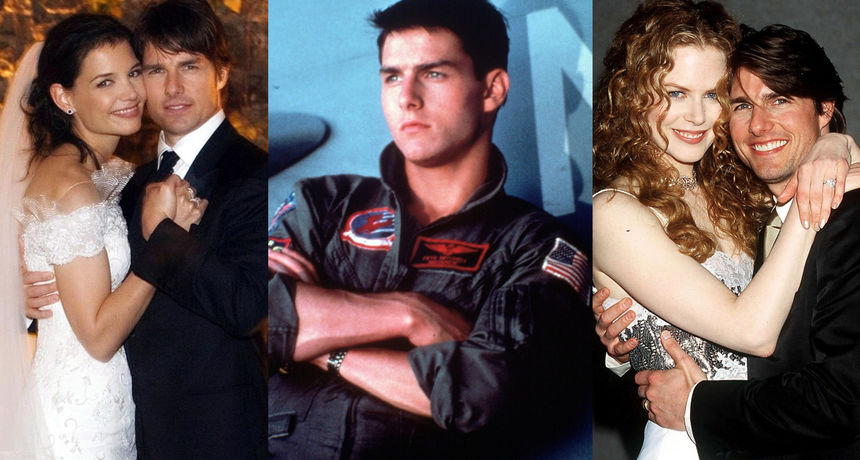 Sa svakom se suprugom razveo kada je navršila 33 godine: 10 činjenica koje niste znali o Tom Cruiseu