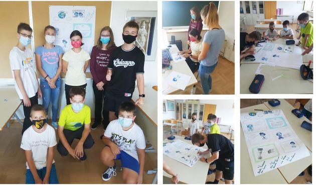 DRUGA OŠ ČAKOVEC Globe učenici obilježili Međunarodni dan zaštite ozonskog omotača
