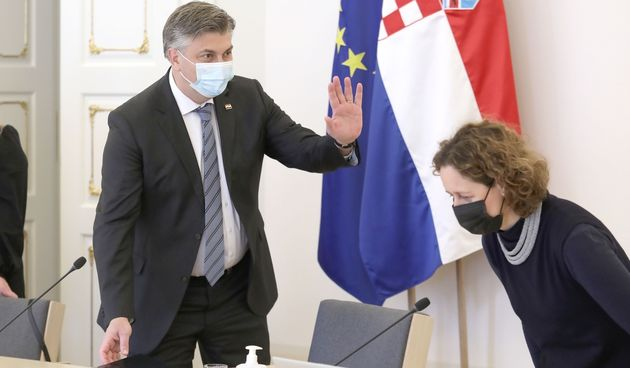 Andrej Plenković. Nina Obuljen Koržinek