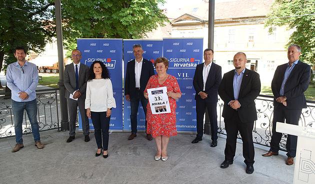 U HDZ-u Karlovačke županije zadovoljni rezultatom u VII. izbornoj jedinici - uvjereni da će pobijediti i na lokalnim izborima sljedeće godine