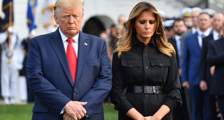 Potpuno gola i u klinču s drugom ženom: Procurile skandalozne fotografije Melanije Trump