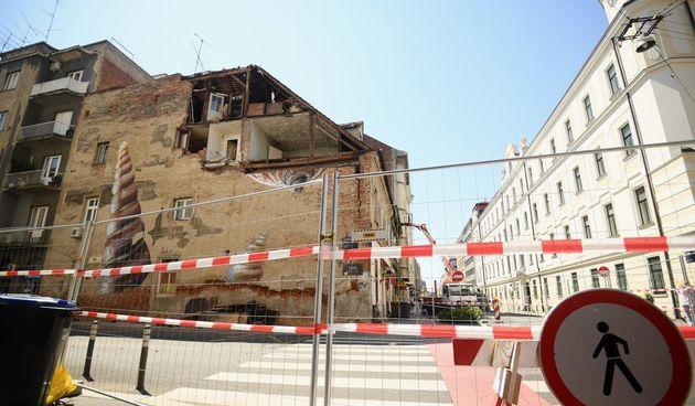 potres, šteta, Zagreb