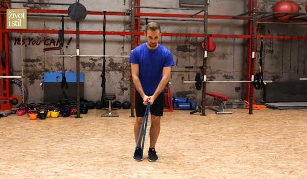 Trener Spevan pokazao nam je vježbe s elastičnom trakom (thumbnail)