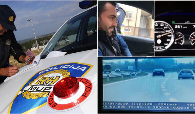 Kazne za vozače, hrvatska, srbija, brza vožnja