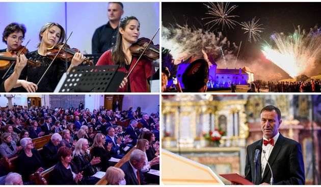 FOTO Uz čarobni spoj barokne glazbe i plesa, te atraktivnim vanjskim dijelom otvorenja započele 51. Varaždinske barokne večeri