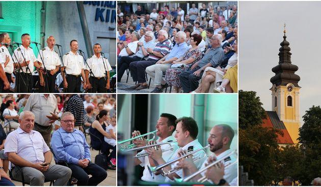 Koncert klape 'Sveti Juraj' i orkestra Hrvatske ratne mornarice u Prelogu