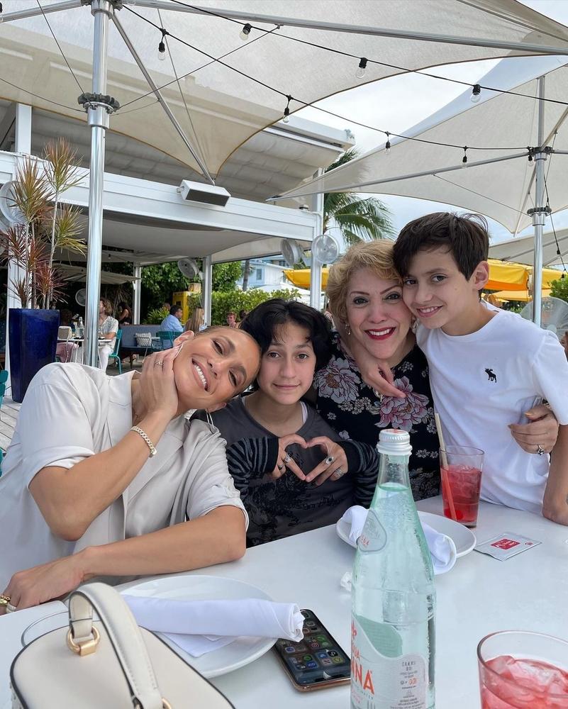Jennifer Lopez s djecom