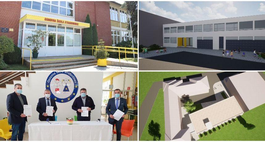 JEDNOSMJENSKA NASTAVA Dogradnjom škole još bolji uvjeti za 358 učenika u Strahonincu