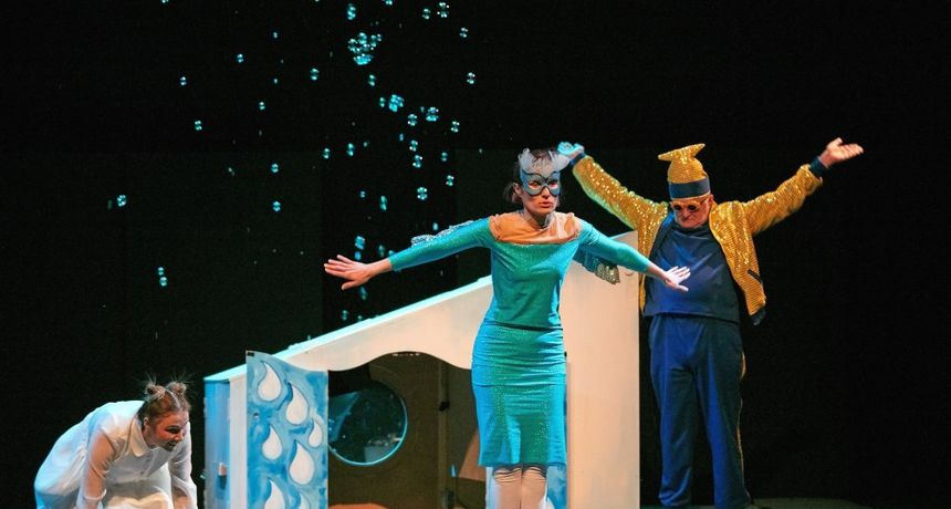 Kazalište slijepih i slabovidnih Novi život gostuje u subotu u Zorin domu s dječjom predstavom