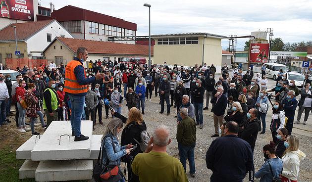 Prosvjed na Borlinu i Dubovcu 22. svibnja 2021.