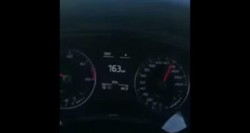 Snimka iz susjedne Slovenije osvaja mreže: Prvo je vozio 160 km/h, a onda ga je netko pretekao...