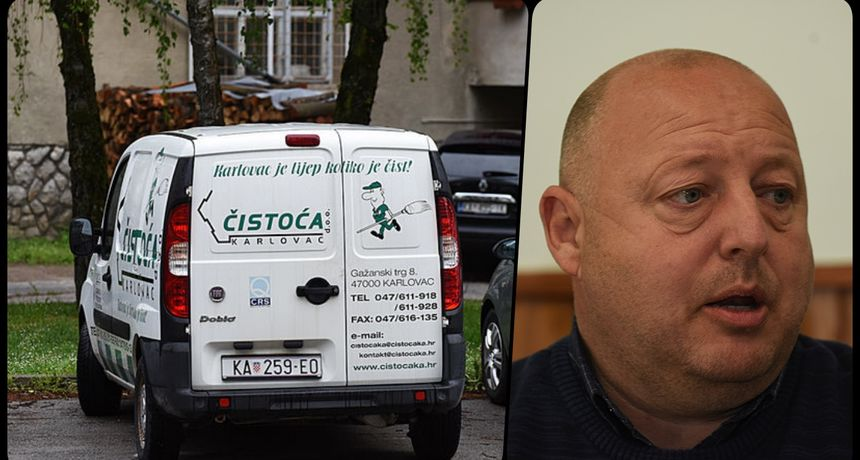 Kandidat Domovinskog pokreta za župana na tiskovnu došao službenim autom gradske tvrtke! Novinarima rekao da je na godišnjem odmoru, iz Čistoće tvrde da - nije!