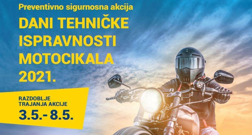 SIGURNOST PROMETA  Dani tehničke ispravnosti motocikala 2021.