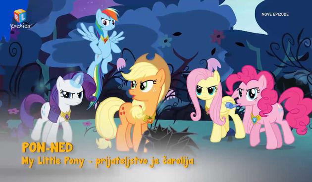 'My Little Pony - prijateljstvo je čarolija' - nove epizode, svaki dan na Kockici (thumbnail)