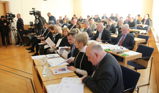 FOTO Održana prva sjednica Skupštine Međimurske županije u 2020. godini