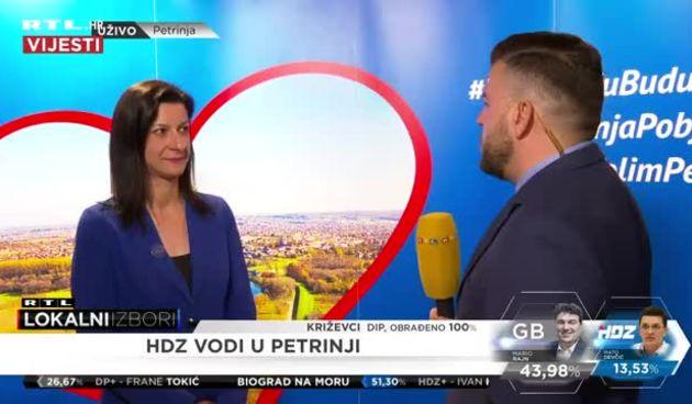 Kandidatkinja za gradonačelnicu Petrinje Magdalena Komes o rezultatima lokalnih izbora (thumbnail)