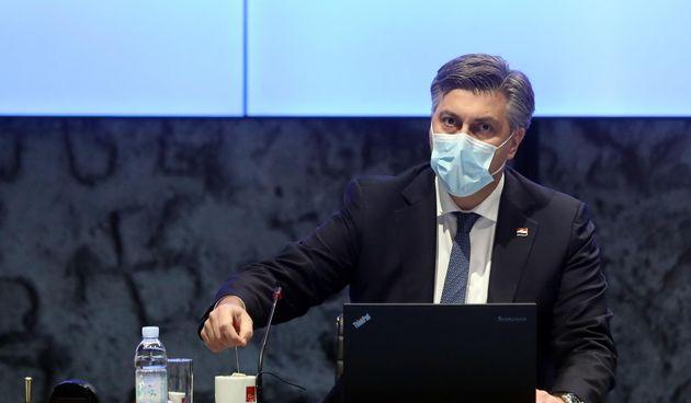 Andrej Plenkovic, sjednica Vlade