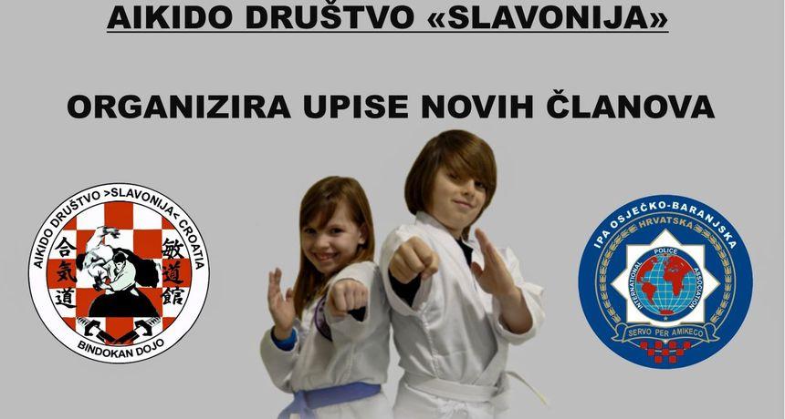Upisi novih članova u aikido školu