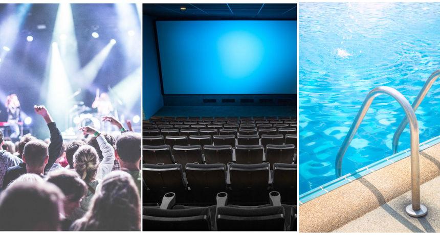 Nastavlja se s popuštanjem mjera: Otvaraju se kina, kazališta, bazeni, dopušteni su koncerti...