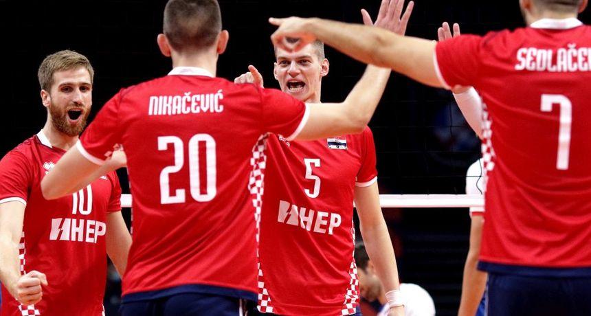 Slovenija zaustavila hrvatske odbojkaše u četvrfinalu EP