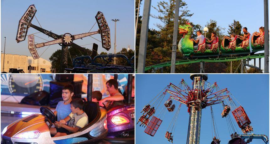 FOTO Lunapark u Čakovcu i ove godine mami posjetitelje svih generacija