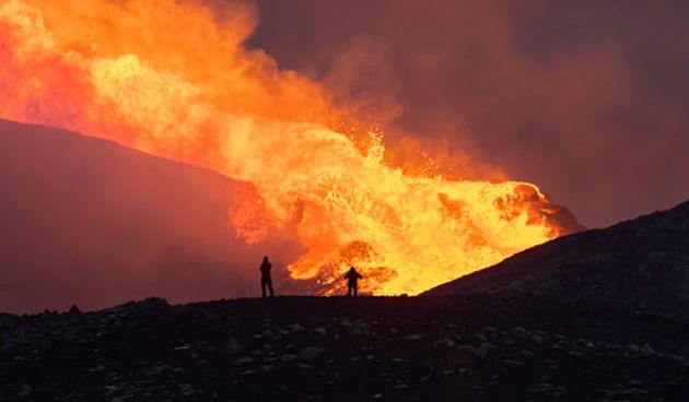 Island vulkan