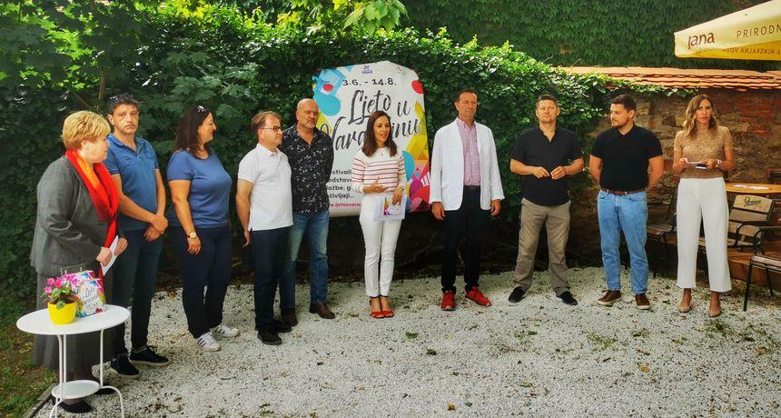 Ljeto u Varaždinu nikad raskošnije: Od Massima i Nine Badrić, programa za mlade, predstava, komičara, plesa...
