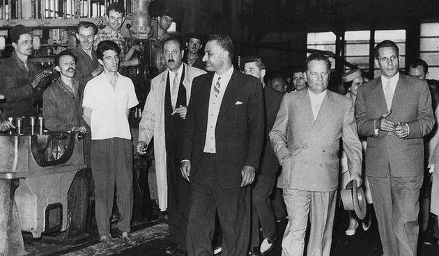 Prije 60 godina Karlovac je u pratnji maršala Tita posjetio Naser, predsjednik Egipta i jedan od vođa Pokreta nesvrstanih