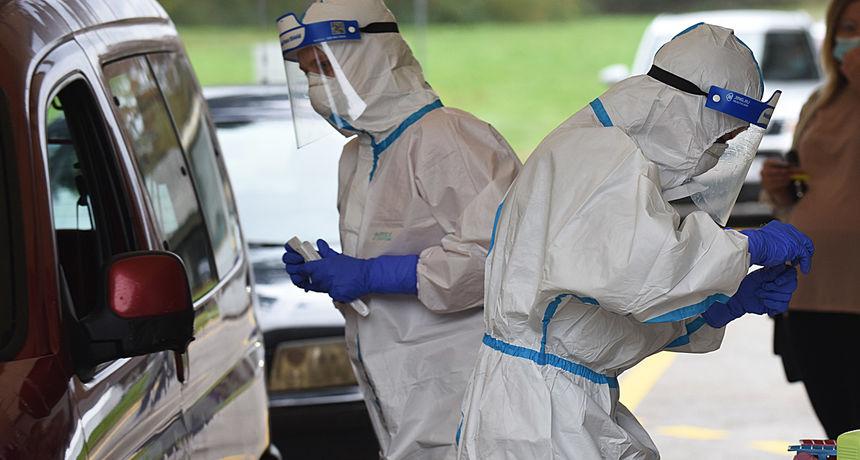 Testiranja na drive in punktovima zbog blagdana nema do utorka, u srijedu možemo ponovo očekivati velike brojeve novopotvrđenih slučajeva zaraze