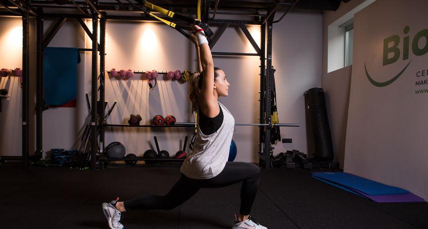 'Mama u formi': TRX trening