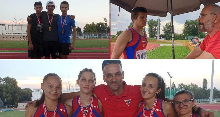 Mlađe seniorke i seniori osvojili 10 medalja